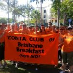 Zonta Club of Brisbane Breakfast Says No!